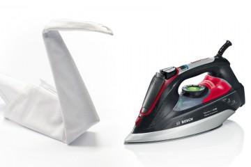 Plancha de inyección DI90 y origami cisne de tela