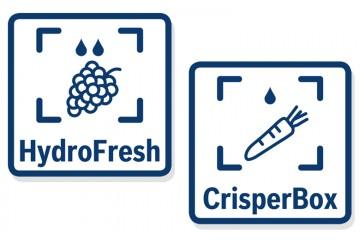 ¿Qué diferencia hay entre el cajón HydroFresh y el CrisperBox?