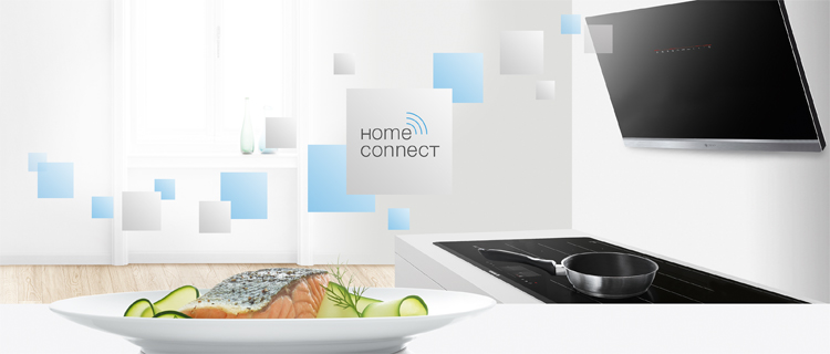 Home Connect en campanas extractoras