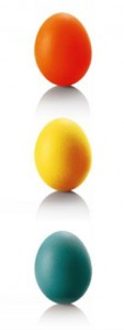 Huevos vertical