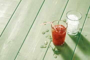 Prueba el zumo de sandia