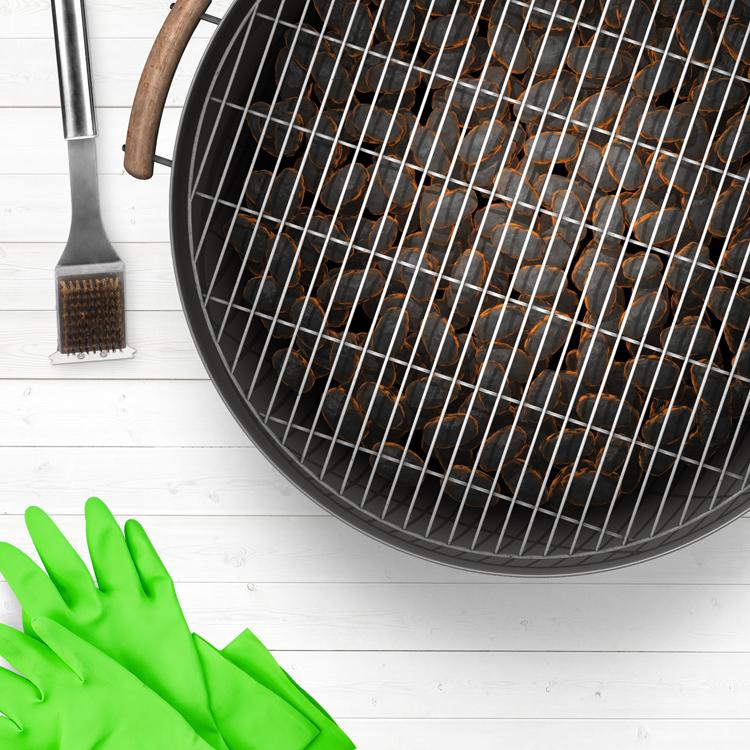 Aprende a limpiar el grill