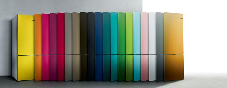 Distintos colores de puerta