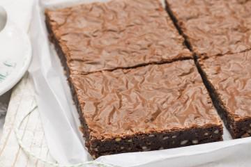 4 pasos para preparar un brownie en el microondas