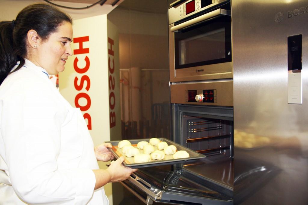 Ana Joga en nuestra cocina del DIY Show