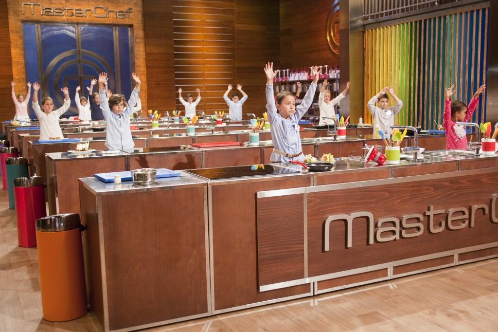 Los aspirantes a MasterChef Junior España en la cocina