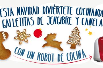 Galletas de Navidad con tu robot