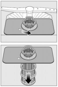 Limpia los filtros, son un elemento clave dentro de tu lavavajillas
