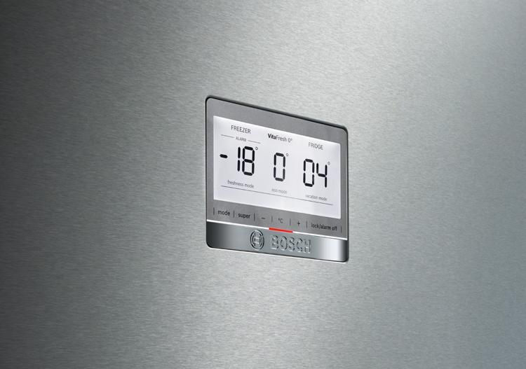 Display de frigorífico Bosch