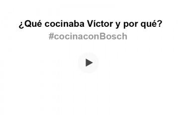 ¿Eres capaz de decirnos qué cocinaba Víctor en este vídeo y por qué?