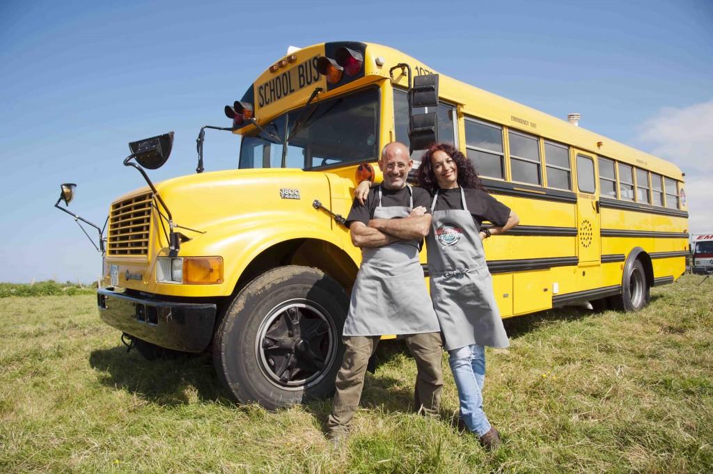 Crepería School Bus