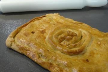 Una empanada de bonito con estrella Michelín