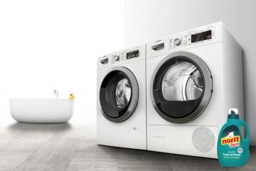 El 17% de los encuestados tiene la secadora en la cocina