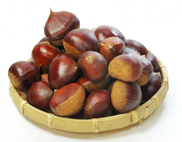 Castanas, fruta de otoño
