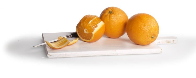 La naranja es una fruta de otoño.