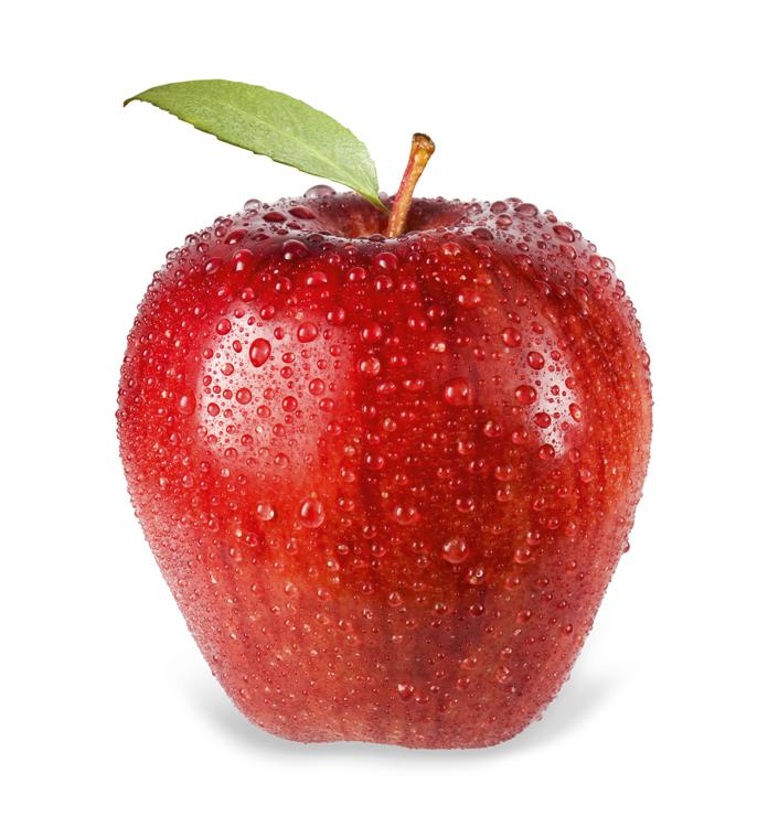 La manzana es una fruta de temporada.