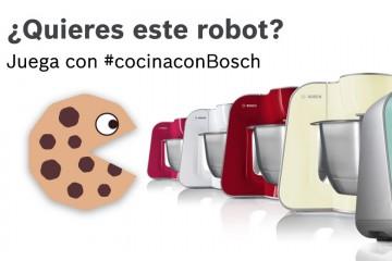 Juega al comecocos de #cocinaconBosch