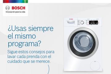 Consejos para poner la lavadora