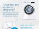 ¿Usas siempre el mismo programa de la lavadora?