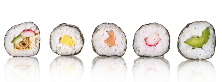 La cocina japonesa es muy sana.