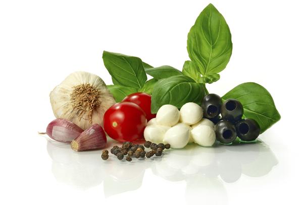 En la cocina italiana hay muchos platos saludables.
