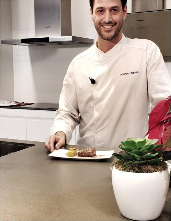 Alfonso Higuera, chef del restaurante cántabro El Serbal