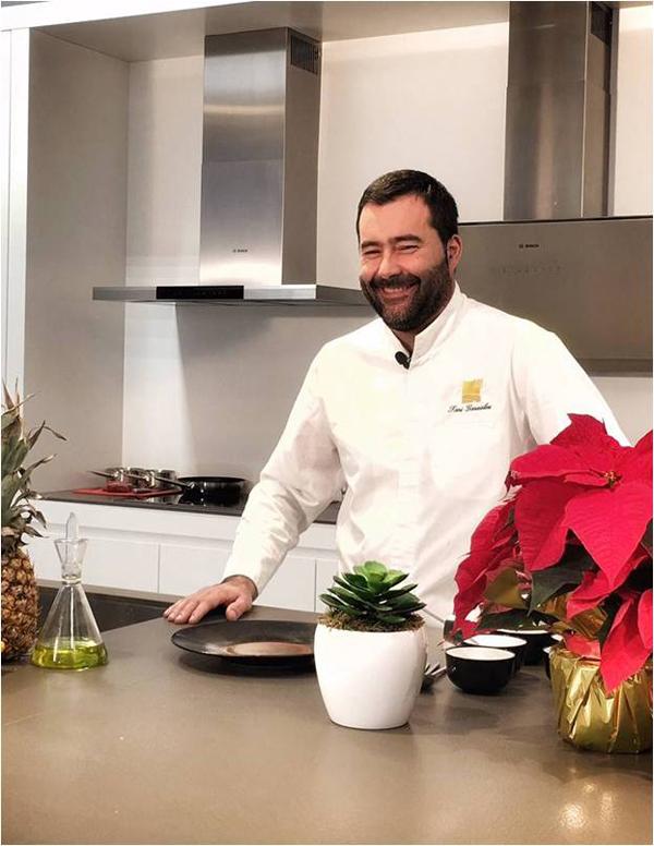 Toni González, chef de El Nuevo Molino
