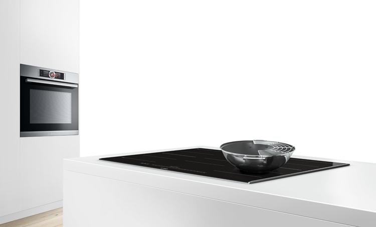 Instalar el horno y la placa por separado es una nueva tendencia.