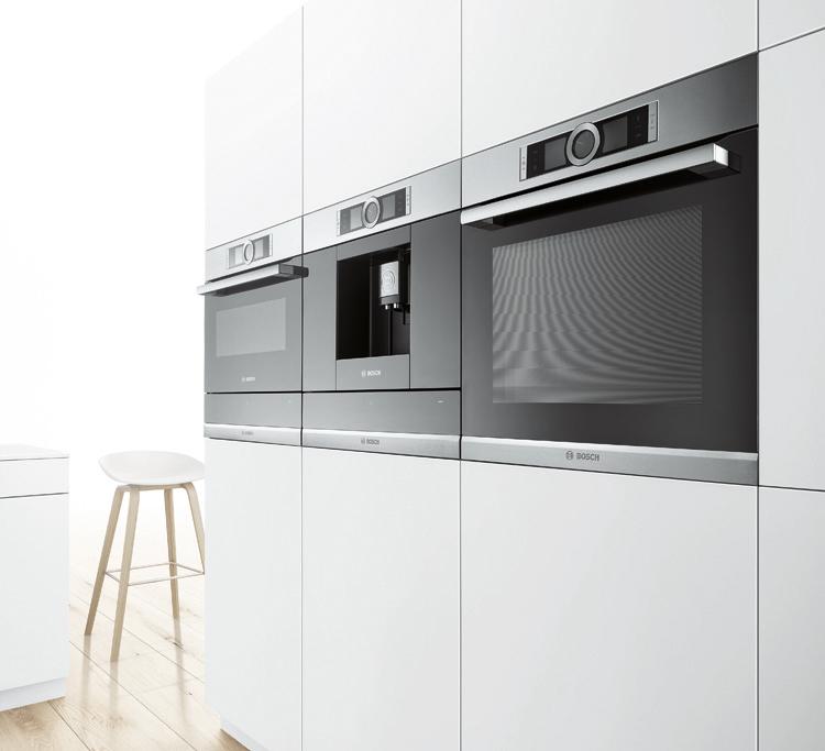 Instala el horno y microondas en horizontal para ganar en diseño.