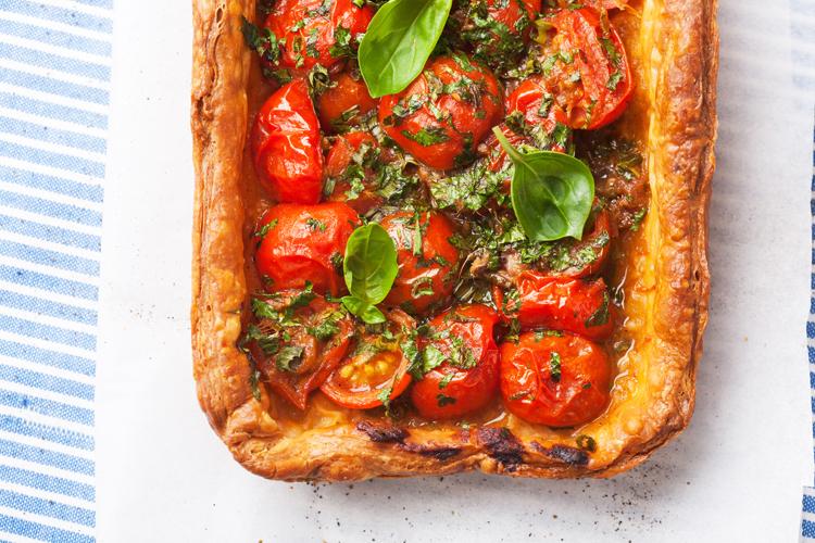 Empanada de tomate