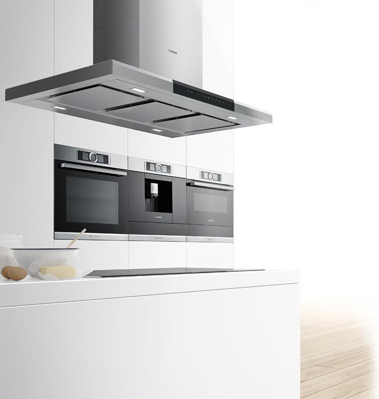 Electrodomésticos Bosch para cocinas de diseño.