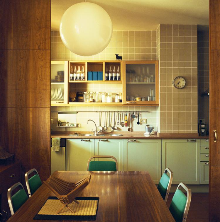 Cocinas de estilo vintage.