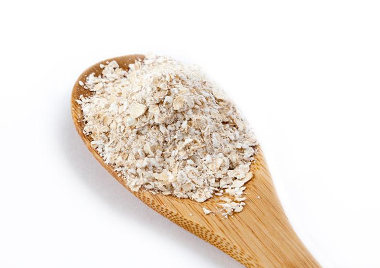 La harina de avena es muy nutritivo.