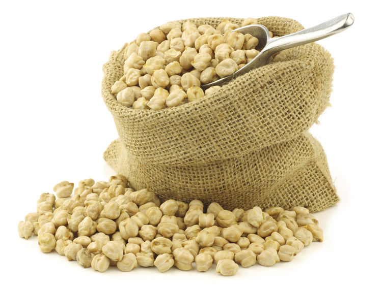 La harina de garbanzos es muy nutritiva.