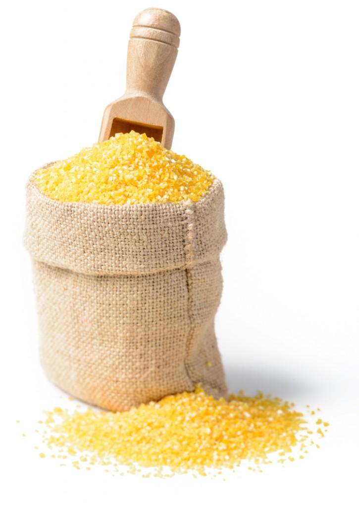 Harina de maíz para celíacos.