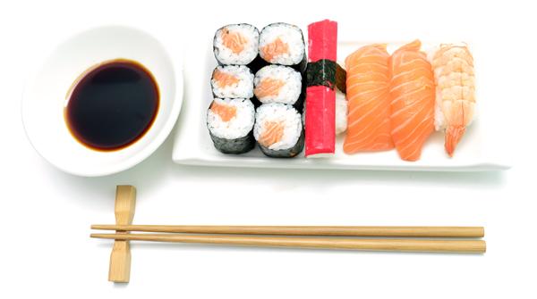 En la cocina asiática se come mucho pescado.