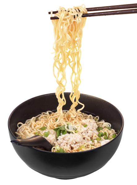 En la alimentación asiática hay muchas sopas.