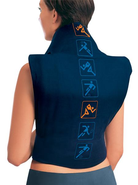 Almohadilla para los dolores de espalda y las cervicales.