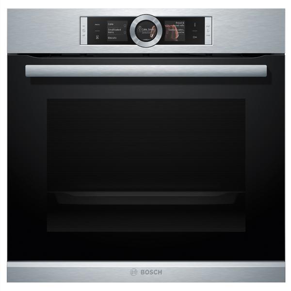 Con el horno Bosch puedes hornear hasta en 4 niveles a la vez
