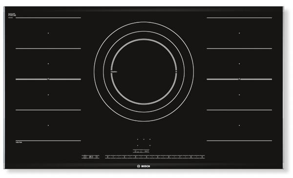 Placa de inducción Bosch con zona de gran tamaño
