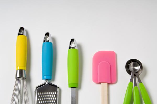 Los mejores utensilios de cocina son de siliciona.