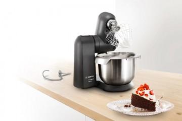 Varillas de repostería en robots de cocina y batidoras de repostería.