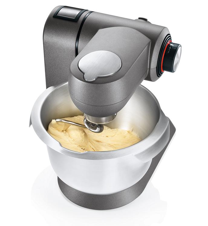 Robot de cocina Bosch maxxiMUM con garfio amasador.