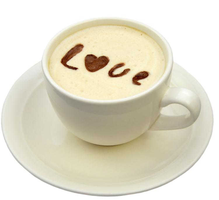 Plantillas para hacer dibujos en el café.
