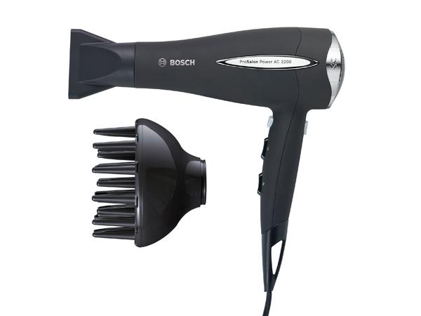 Secador profesional Bosch para secar pelos rizados