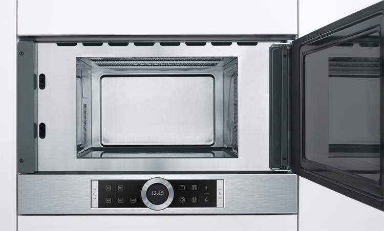 Microondas sin plato giratorio con grill