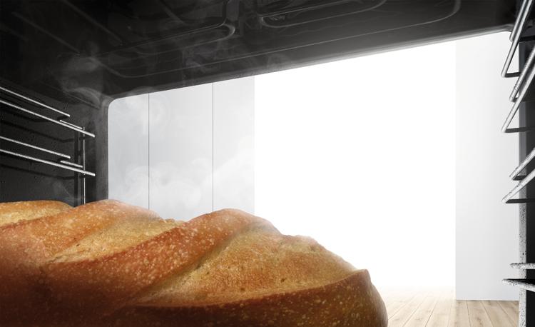 Pan cocinado al vapor