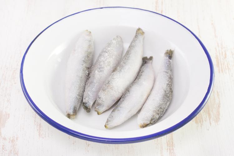 Descongelar pescado en el microondas