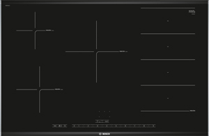 Placa de inducción con zona Flex