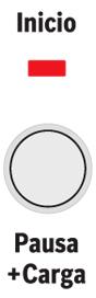 Botón función Pausa + Carga lavadoras Bosch